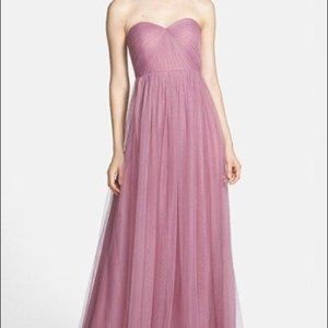 Jenny Yoo Collection Maxi Formal Dress + FREE GIFT